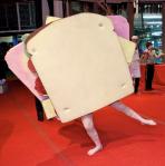 dancing sandwich